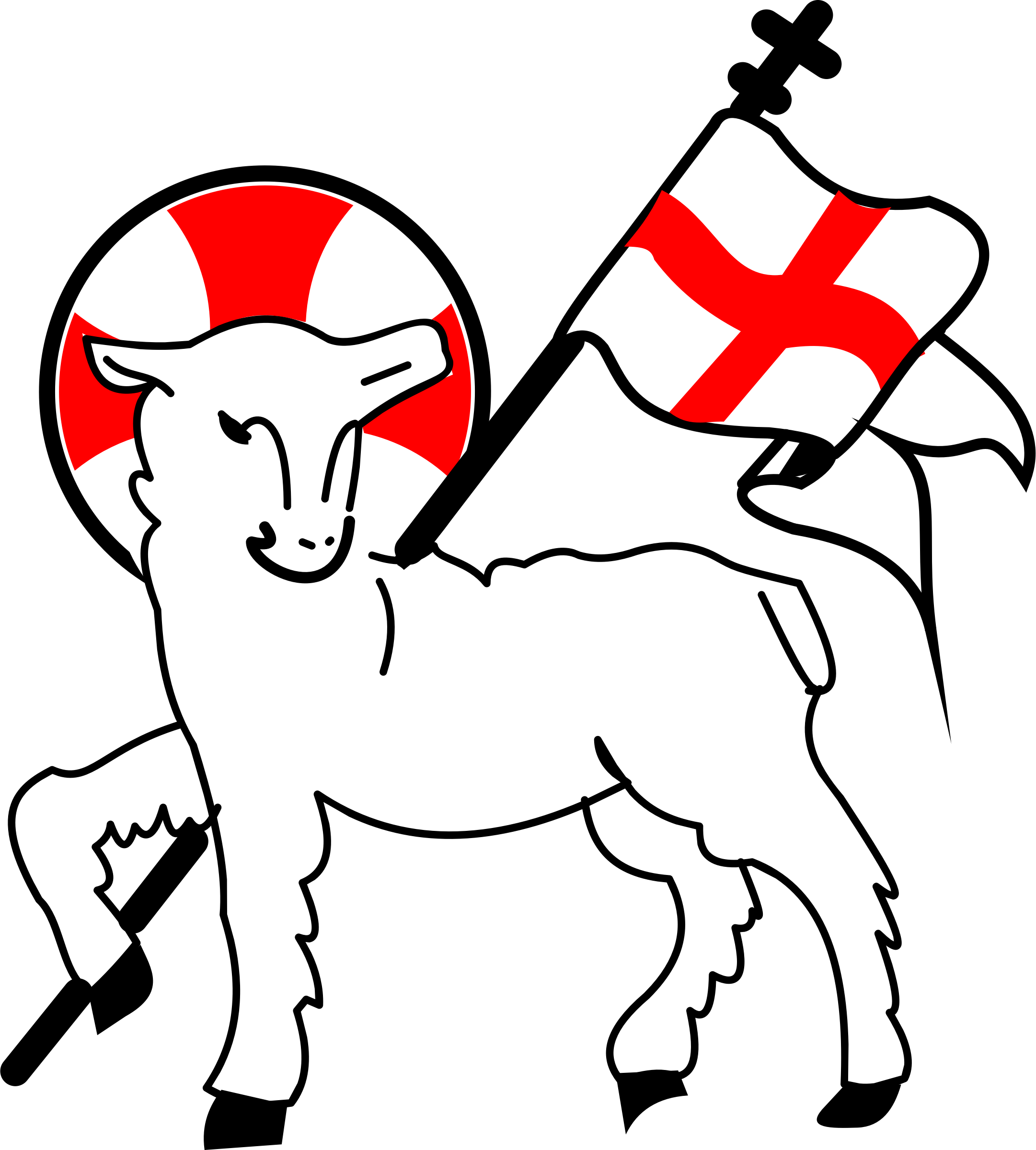Agnus dei big image. Lamb clipart jesus lamb god