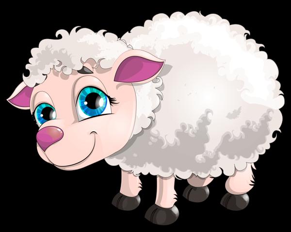 Cute white kids clip. Lamb clipart lam