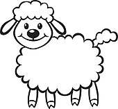 Lamb clipart lam. Clip art vector graphics