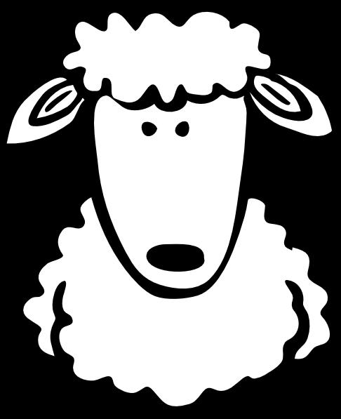 Lamb clipart lamb head. Clip art library