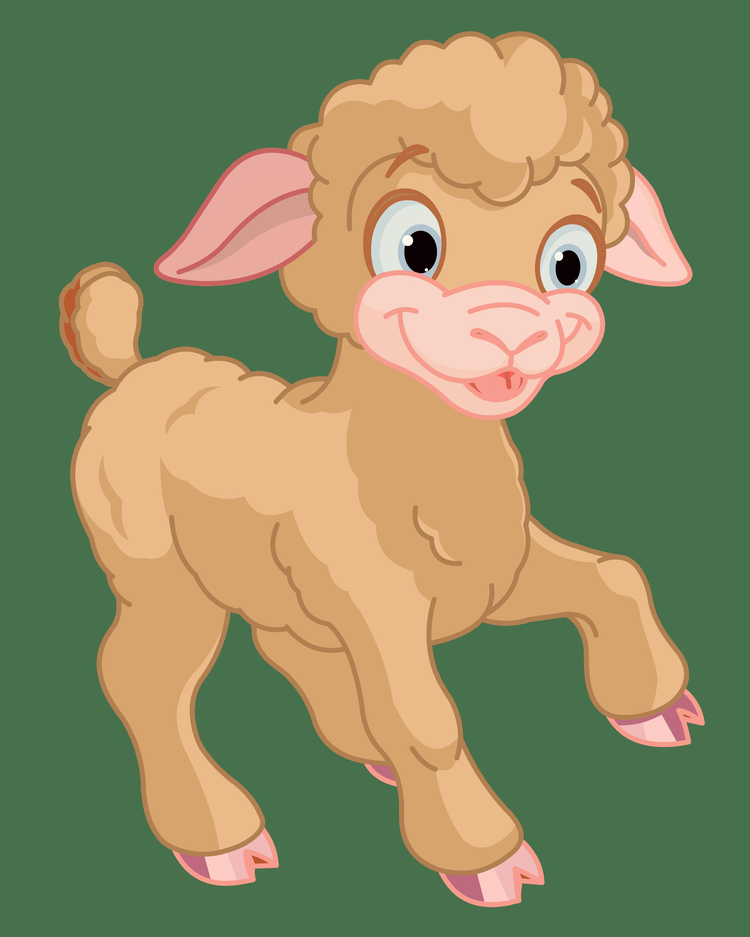 Lamb clipart little lamb. Cute png