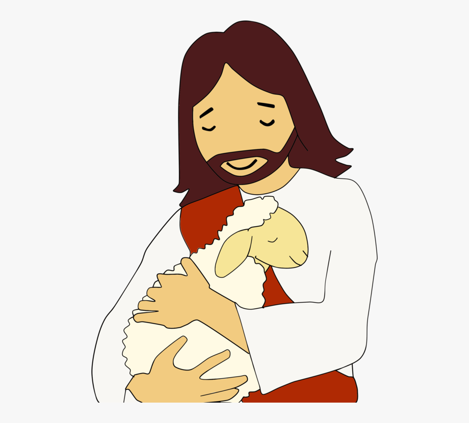 Parable of the clip. Lamb clipart lost sheep