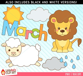 Lamb clipart march. Lion and