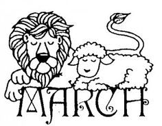 Lamb clipart march. Lion portal