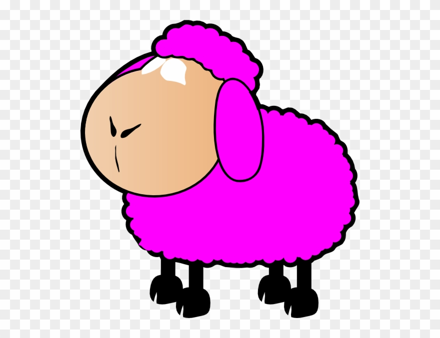 Lamb clipart pink lamb. Sheep clip art png