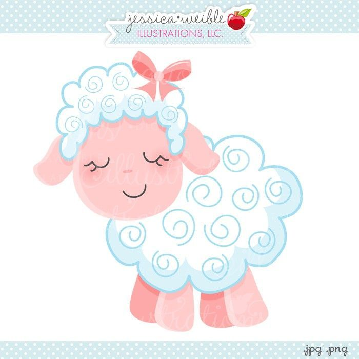Sheep jw illustrations cute. Lamb clipart pink lamb