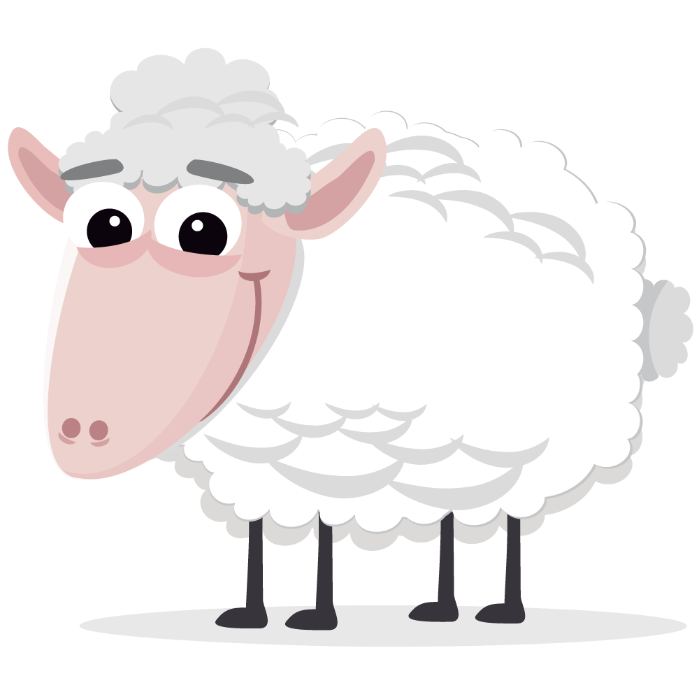 Free easter sheep page. Lamb clipart religious