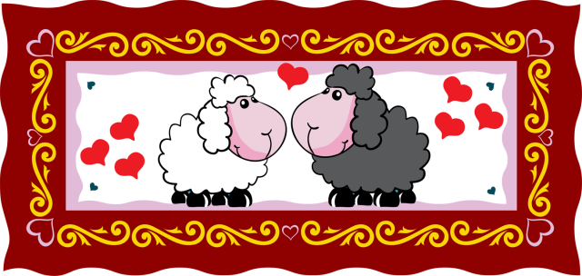 Free sheep cliparts download. Lamb clipart valentine