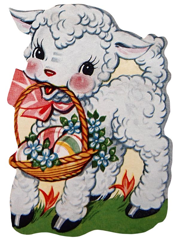Lamb clipart vintage. Download easter sheep bunny