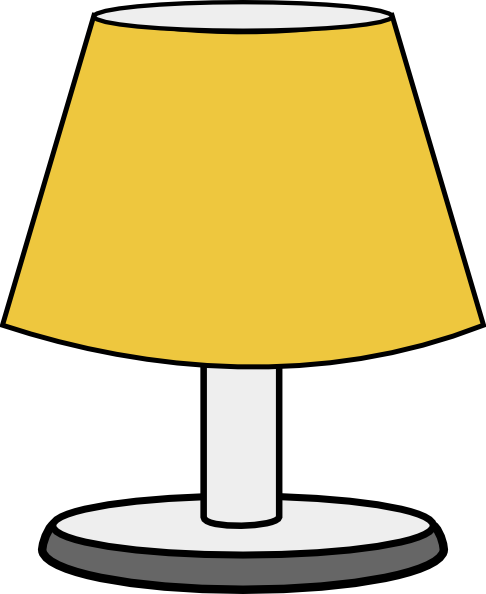 Clip art at clker. Lamp clipart