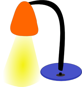 Desktop clip art at. Lamp clipart