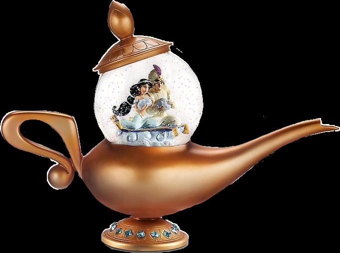 Lamp clipart aladdin. Disney princess gold freetoedit