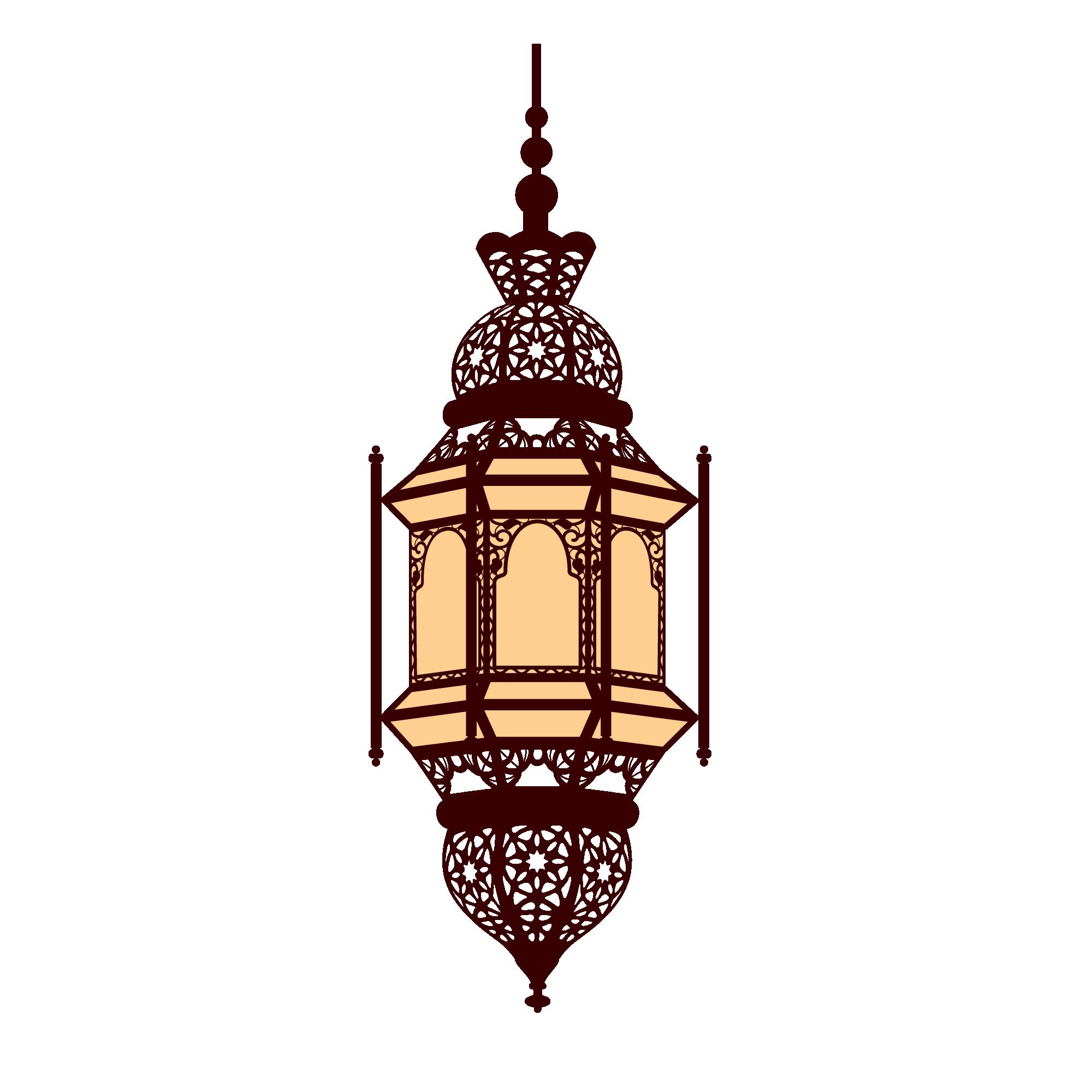 Lamp clipart arabian. Lantern arabic clip art