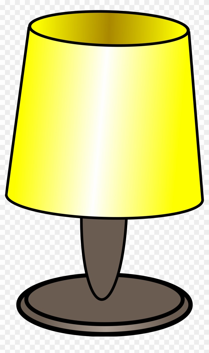 Lamp clipart bed lamp.  cartoon cliparts table