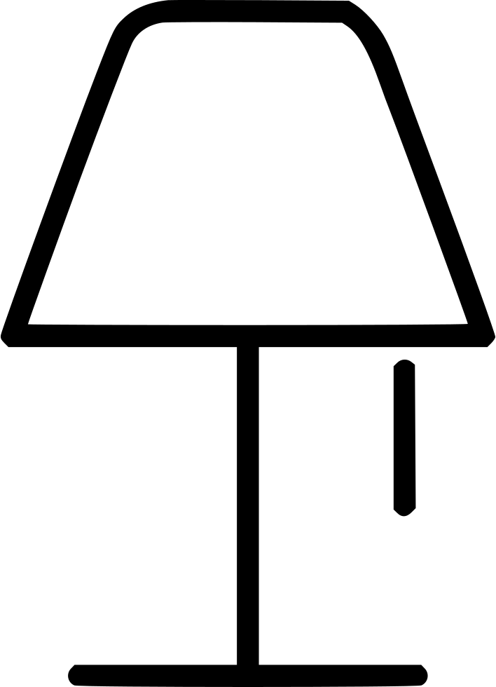 Svg png icon free. Lamp clipart bed lamp