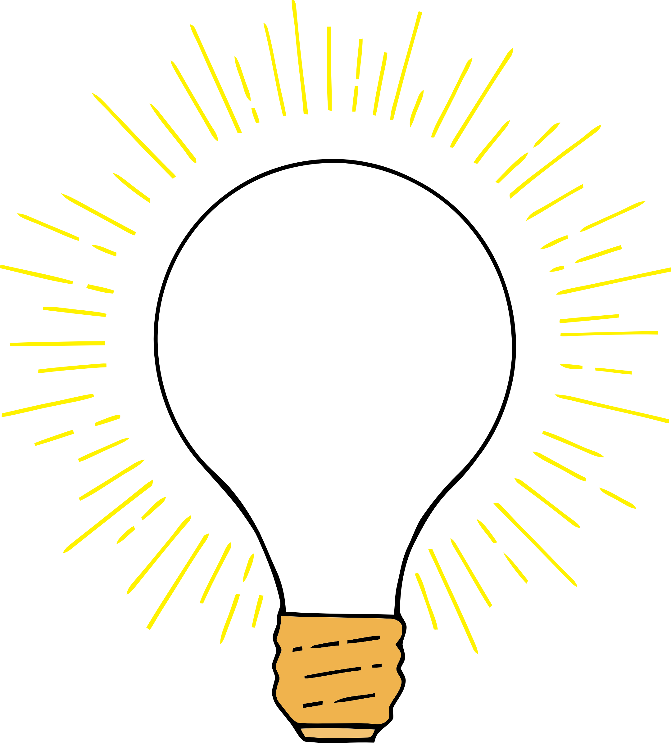 Big image png. Lightbulb clipart lighted bulb