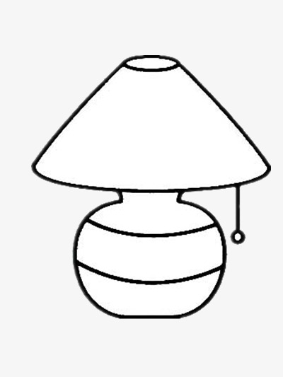 Lamp clipart black and white. Station