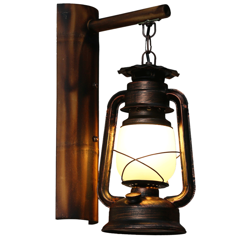 Led solar flame torch. Lamp clipart camping lantern