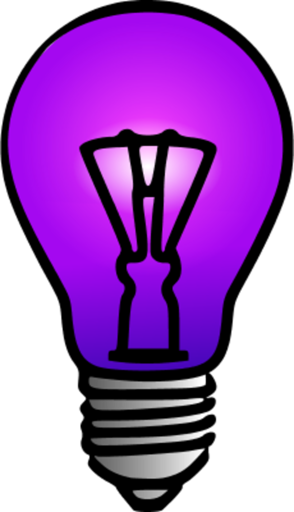 Lamp clipart cartoon. Light bulb picture free