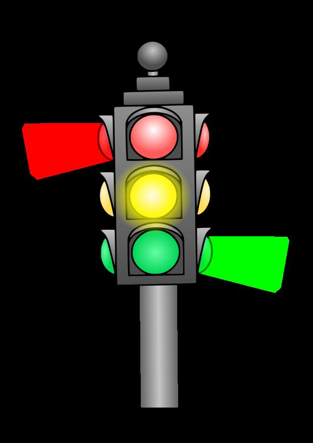 Lamp clipart cartoon. Traffic light panda free