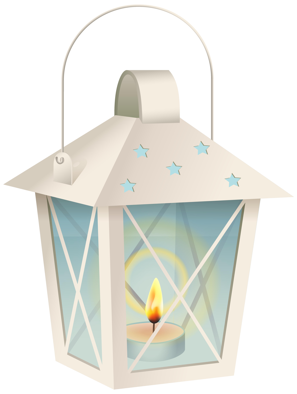 Decorative lantern png image. Winter clipart corner