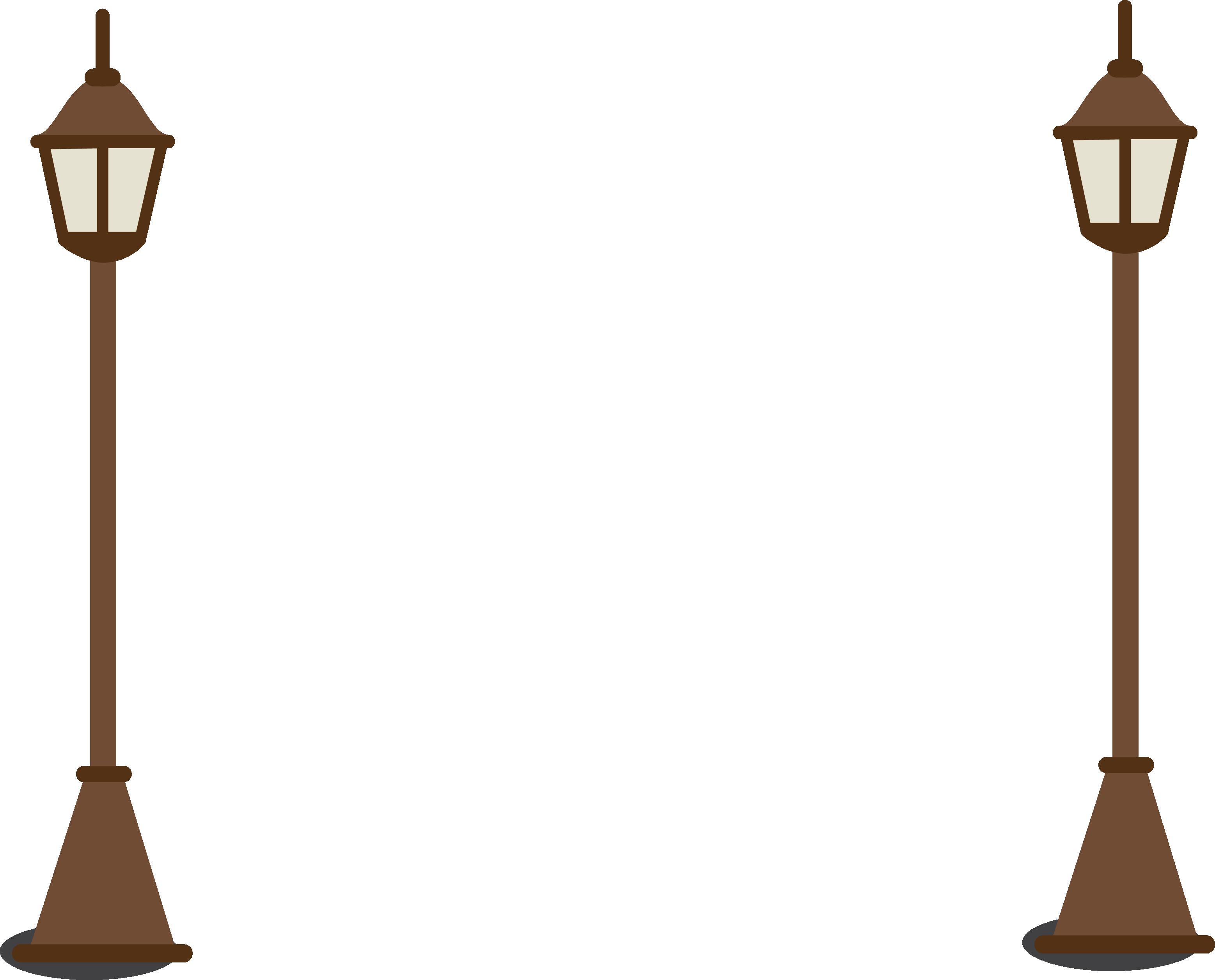 Lamp clipart ceiling lamp. Street light cartoon drawing