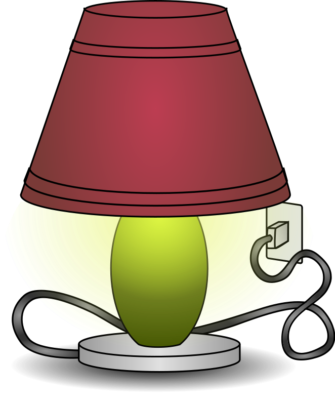 collection of free. Lamp clipart cute