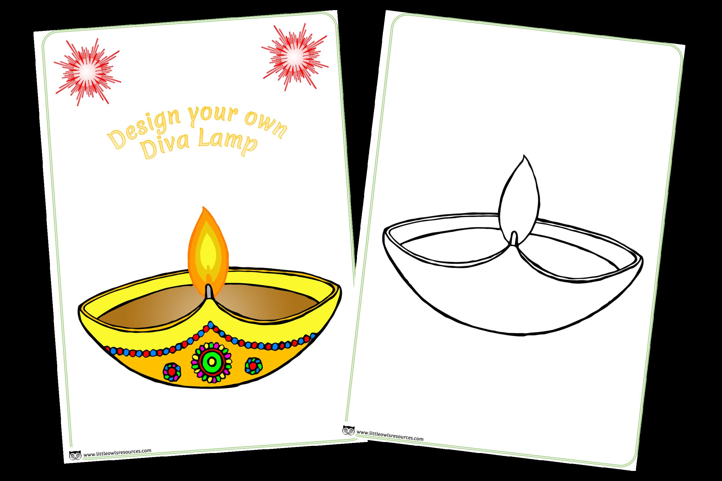 Free design printable early. Lamp clipart diva lamp