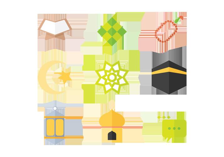 Lamp clipart eid. Ketupat al fitr ramadan