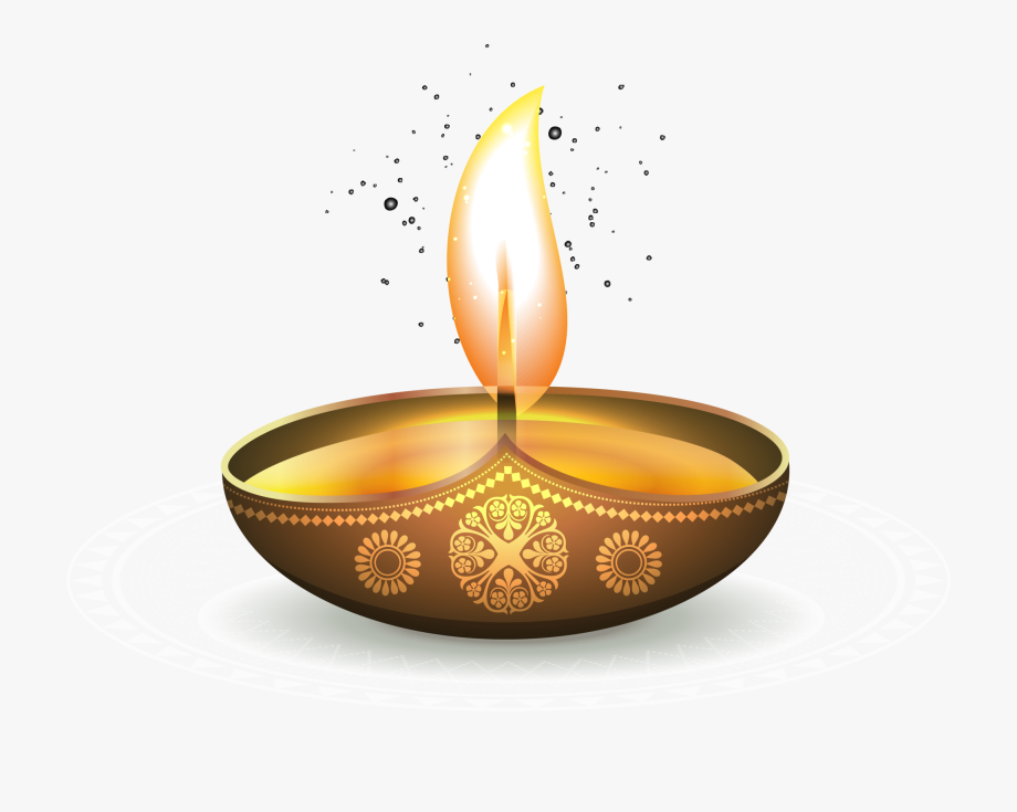 Golden oil ezhamkulam light. Lamp clipart fire lamp