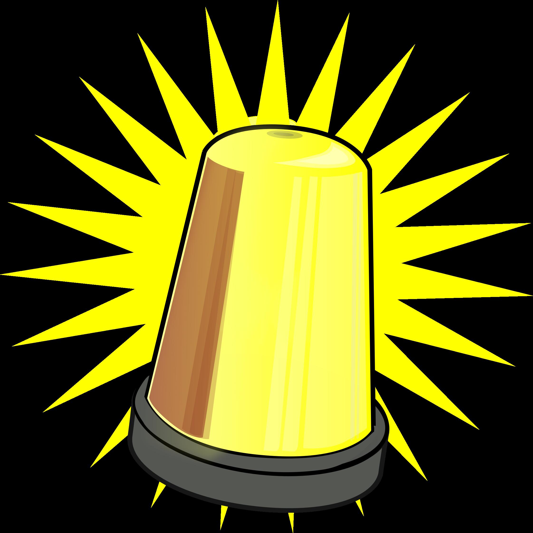 Lamp clipart flashlight.  great yellow traffic