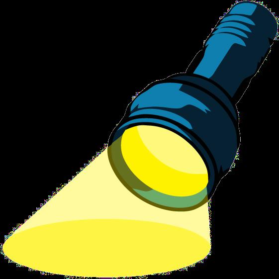 Jpg black and white. Lamp clipart flashlight