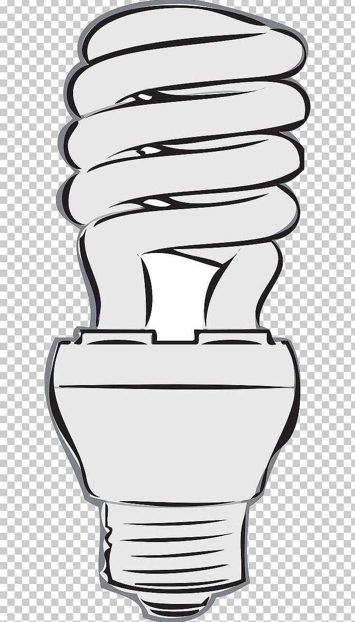 Incandescent light bulb compact. Lamp clipart flourescent lamp