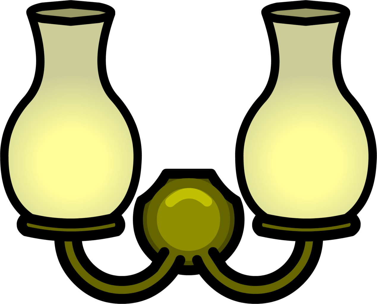 Lamp clipart furniture. Image double wall light