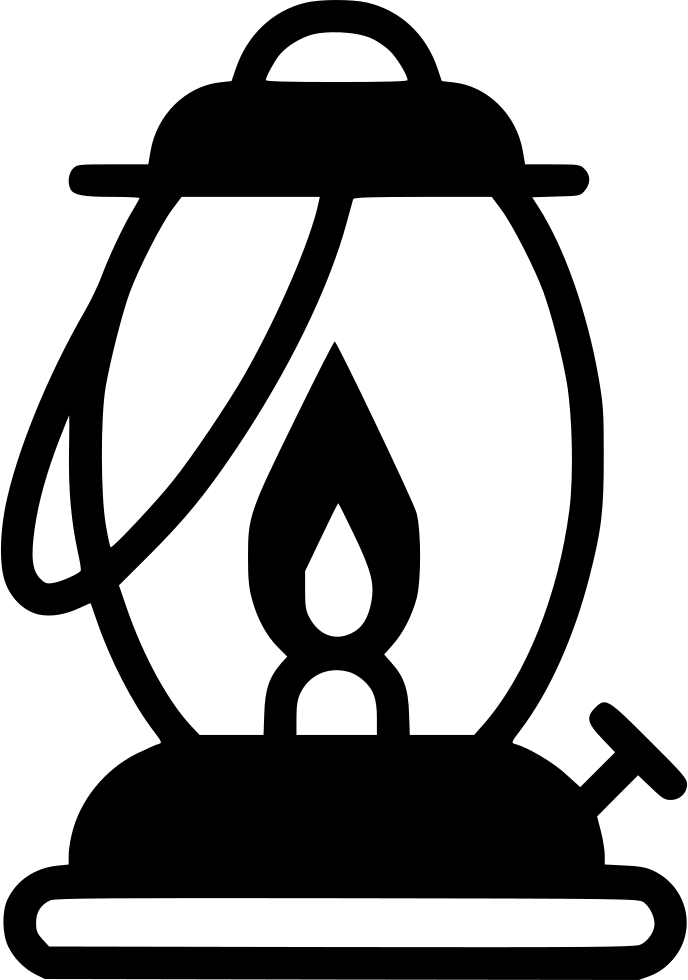 Lamp clipart gas lamp. Svg png icon free