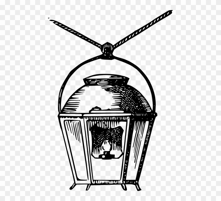 Lamps drawing png download. Lamp clipart gas lamp