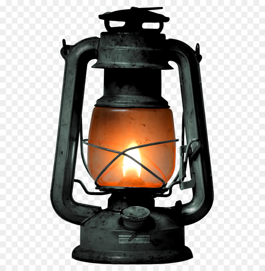 Lamp clipart kerosene lamp. Light bulb cartoon transparent