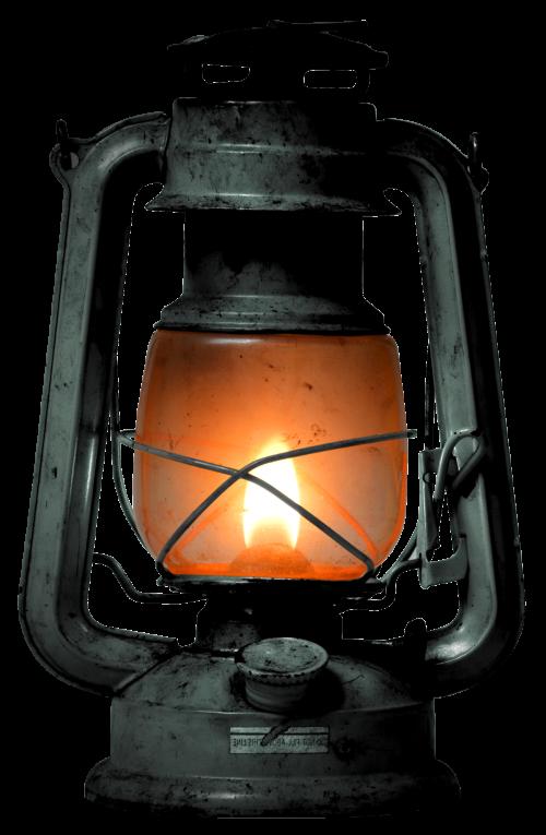 Old kerosene png image. Lantern clipart paraffin lamp