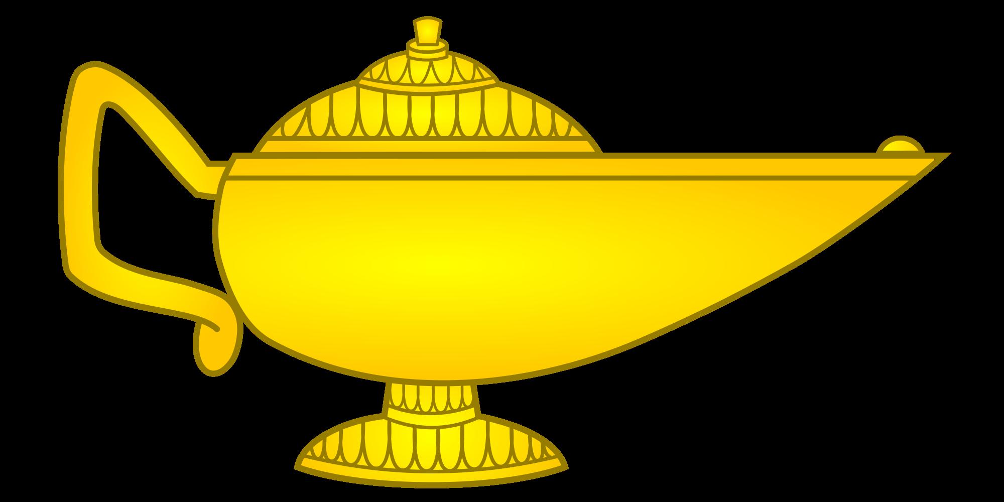 Lamp clipart knowledge.  best genie clip