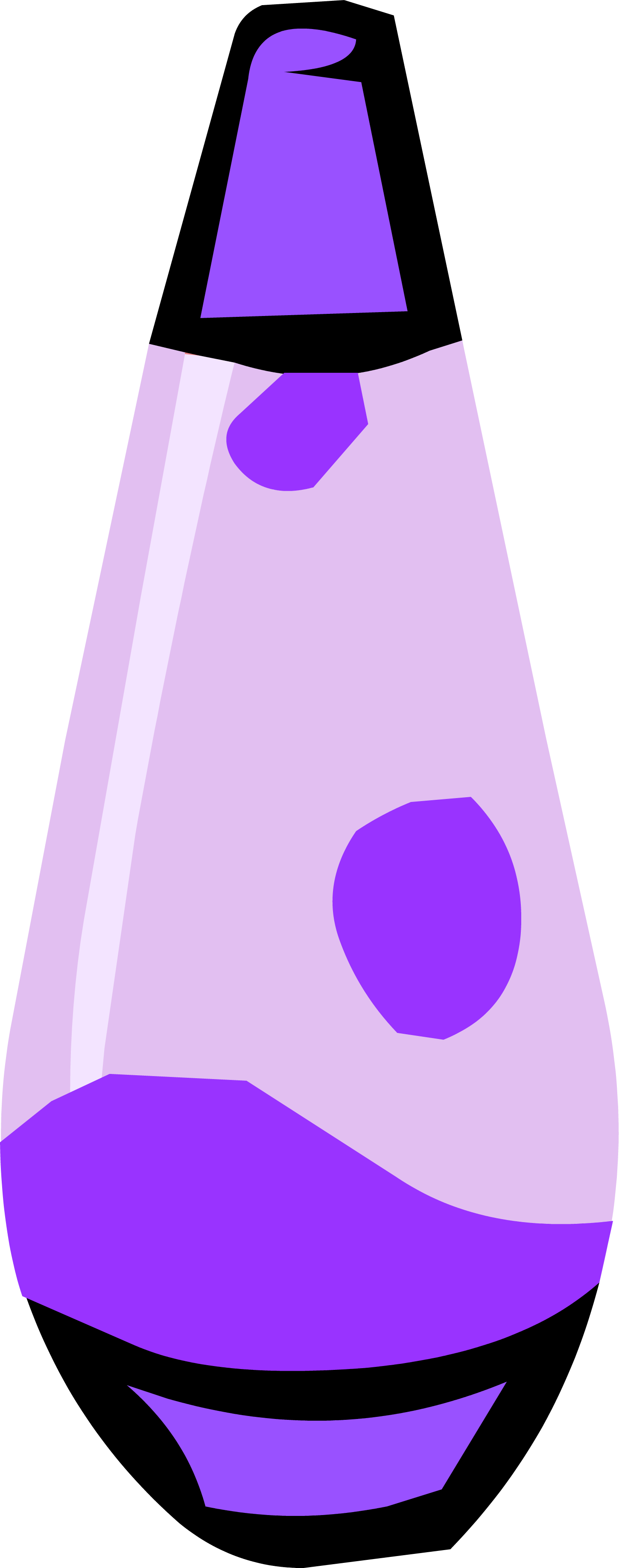 Purple lava club penguin. Lamp clipart lampara