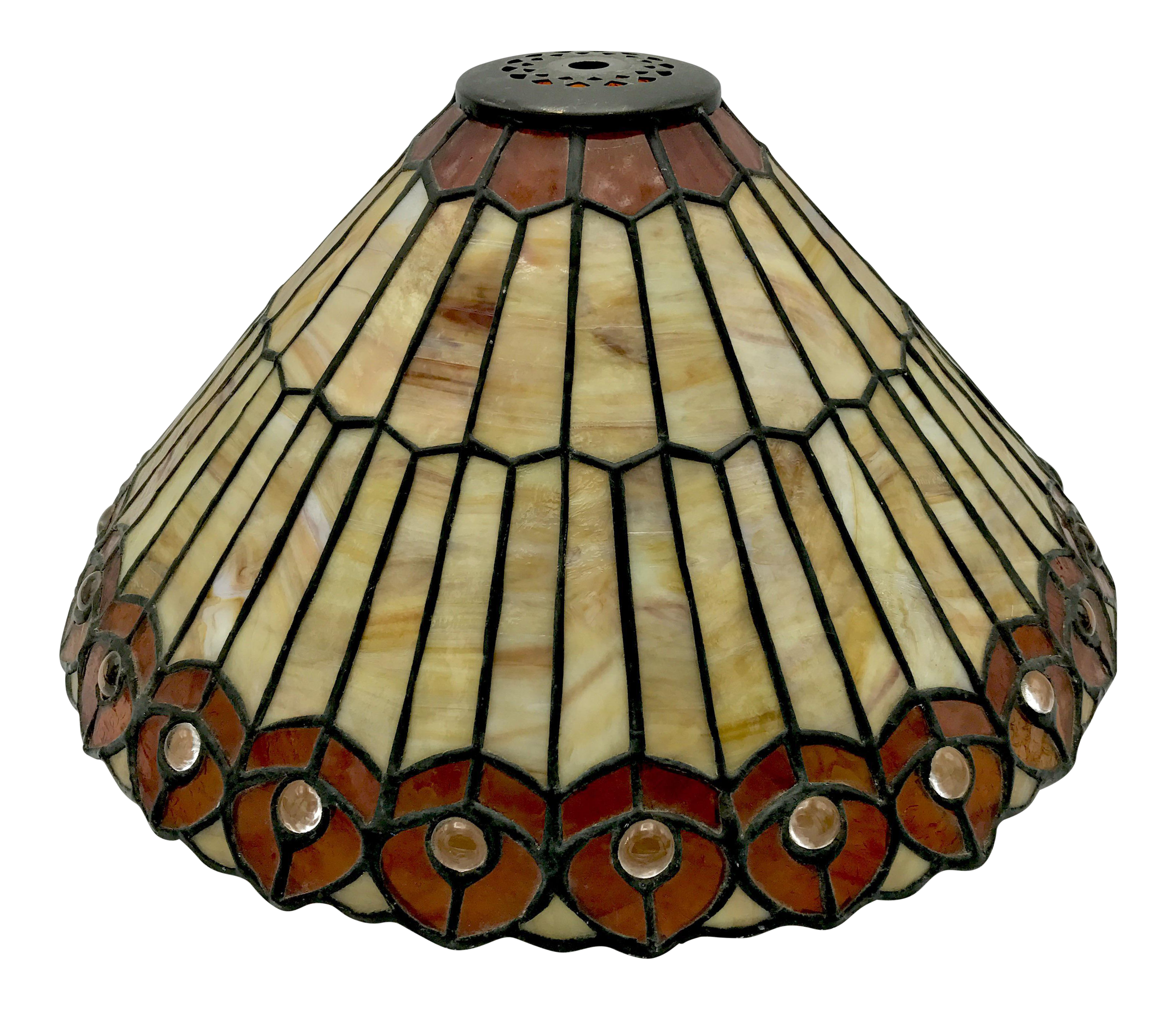 Lamp clipart lampshade. Vintage tiffany style stained