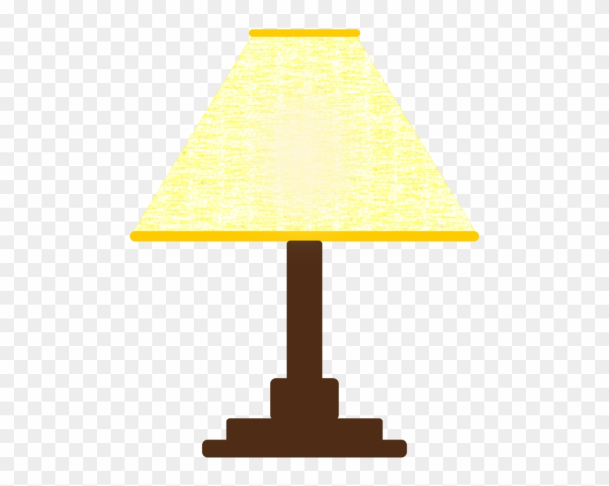 Electric light shades bedside. Lamp clipart lampshade