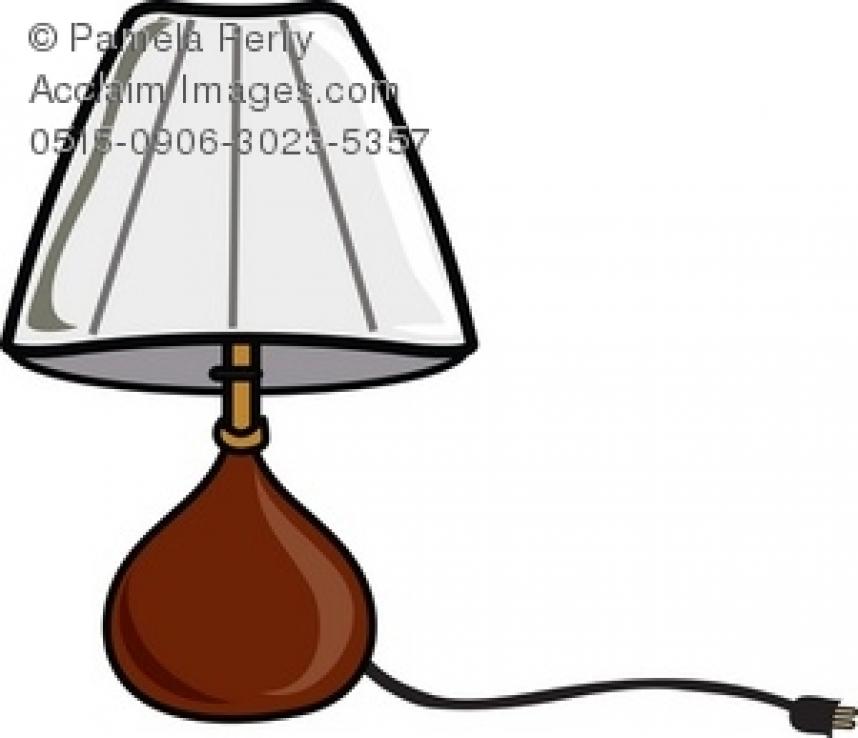 Lamp clipart lampshade. Shade clip art