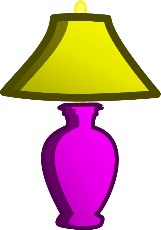 Lamp clipart lampshade. Image body new png