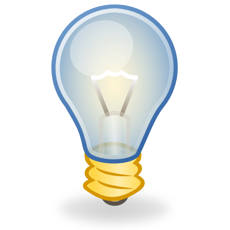 Lamp clipart light. Free bulb icons download
