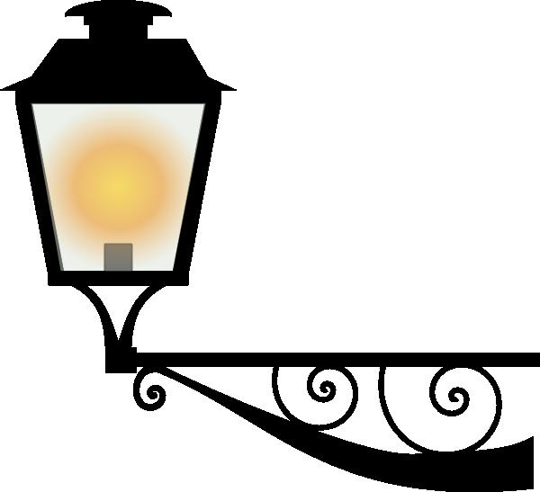 Lamp clipart light. Clip art at clker