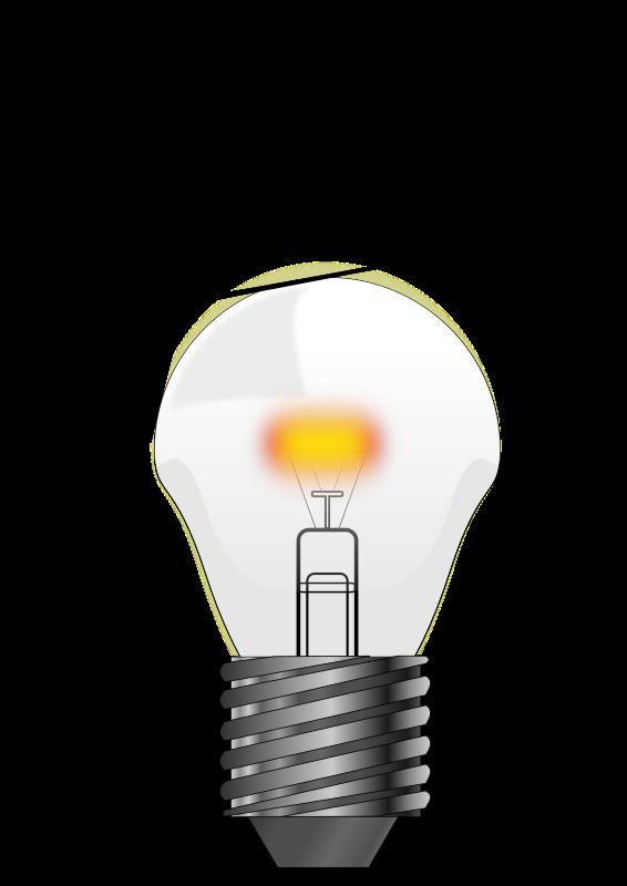 Lightbulb clipart old lightbulb. Incandescent light bulb animation