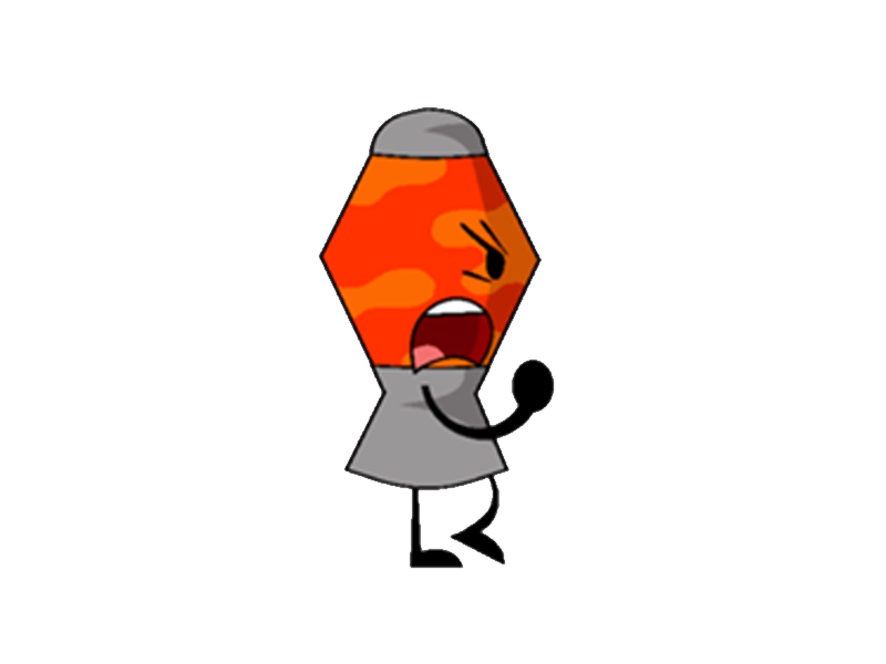 Lamp clipart long object. Lava objects at war