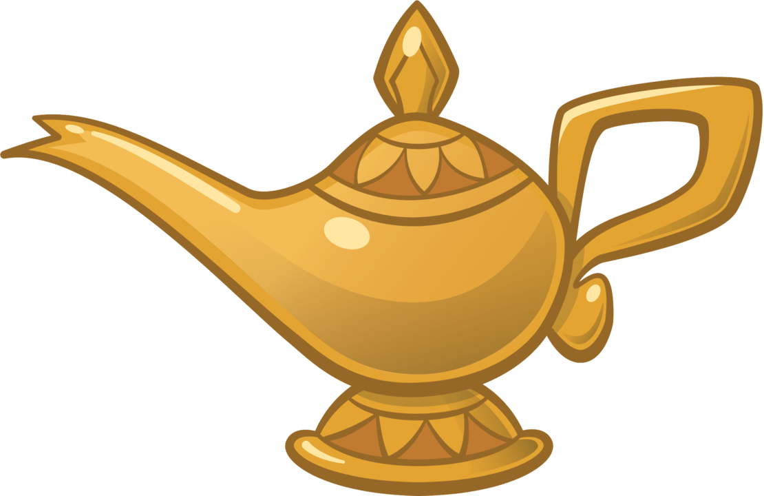Genie mr peabody s. Lamp clipart long object