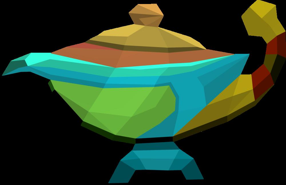 Treasure clipart prize box. Large prismatic lamp runescape